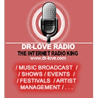 Logo of radio station Dr Love Radio