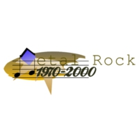 Logo of radio station Metal Rock 1970 - 2000