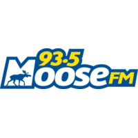 Logo of radio station 93.5 Moose FM