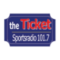 Logo of radio station KLTD The Ticket 101.7