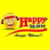 Logo of radio station Happy98.9FM