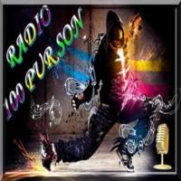 Logo of radio station 100PurSon