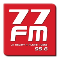Logo of radio station 77FM