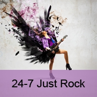Logo de la radio 24-7 Just Rock