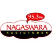 Logo of radio station Nagaswara FM Cirebon 95.3