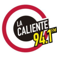 Logo of radio station XET-FM La Caliente 94.1