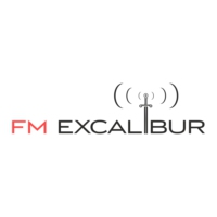 Logo of radio station FM EXCALIBUR