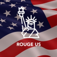 Logo de la radio Rouge US
