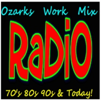 Logo de la radio Ozarks Work Mix Radio - Branson Missouri