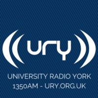 Logo of radio station URY