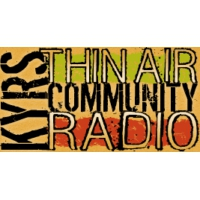 Logo of radio station KYRS Community Radio