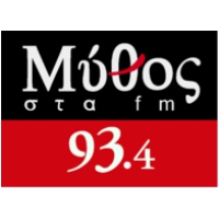 Logo of radio station Mythos