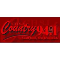 Logo of radio station CHSJ Country 94.1 FM