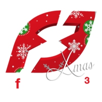 Logo of radio station Fréquence 3 X Mas