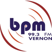 Logo of radio station BPM VERNON