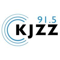 Logo of radio station KJZZ 91.5