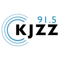Logo of radio station KJZZ 91.5