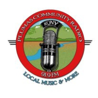 Logo of radio station KQNY Plumas Community Radio