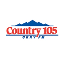Logo of radio station CKRY FM (Country 105)