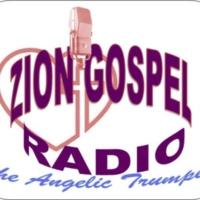Logo of radio station Zion Gospel Radio