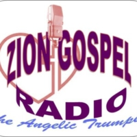 Logo of radio station Zion Gospel Radio