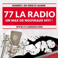 Logo of radio station 77 La Radio