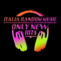Logo of radio station italia random music