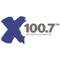 Logo of radio station CKEX-FM X100.7