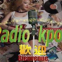 Logo of radio station RADIO KPOP