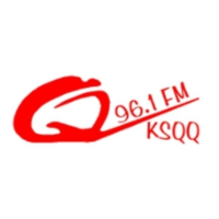 Logo of radio station KSQQ 96.1