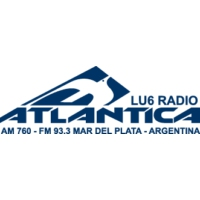 Logo of radio station LU6 Radio Atlantica FM 93.3