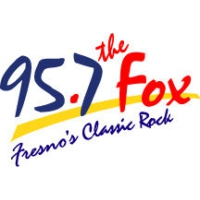 Logo of radio station KJFX The Fox 95.7
