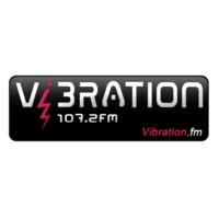 Logo de la radio Vibration 107.2 FM