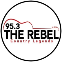 Logo of radio station WEBL 95.3 The Rebel