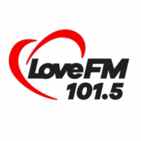Logo of radio station XHVLO Love 101.5
