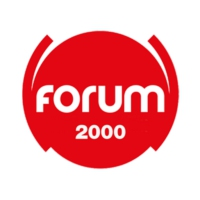 Logo of radio station FORUM 2000