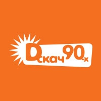 Logo of radio station DFM - ДИСКАЧ 90-Х