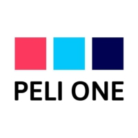 Logo of radio station PELI ONE