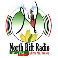 Logo of radio station North Rift Radio