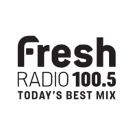 Logo of radio station CKRU-FM 100.5 Fresh Radio