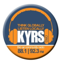 Logo of radio station KYRS