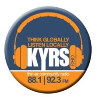 Logo of radio station KYRS