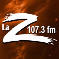 Logo of radio station La Z 107.3 FM