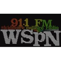 Logo of radio station WSPN Skidmore College 91.1