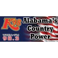 Logo of radio station WKEA-FM K 98.3