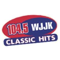 Logo of radio station WJJK 104.5