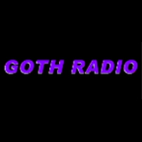 Logo of radio station Goth Radio