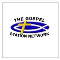 Logo of radio station KTGS The Gospel Station