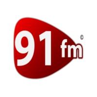 Logo of radio station 91 FM