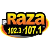 Logo of radio station WLKQ-FM La Raza 102.3 - 107.1